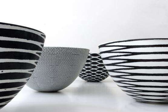 Ane-Katrine von Bülow - everything is black and white (bowls)