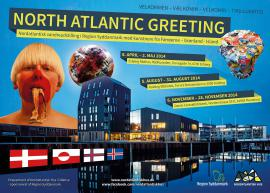"""North Atlantic Greeting"" - kunst fra Nordatlanten"